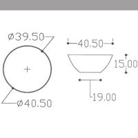 διαστάσεις νιπτήρα μπάνιου jelia bianco